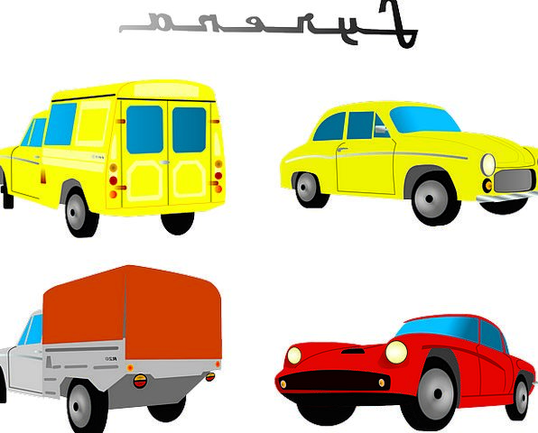 Truck Car Traffic Carriages Transportation Vehicle