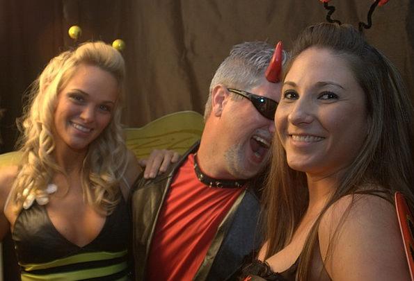 Girls Lassies Halloween Pary Devil Fiend Hot Girls