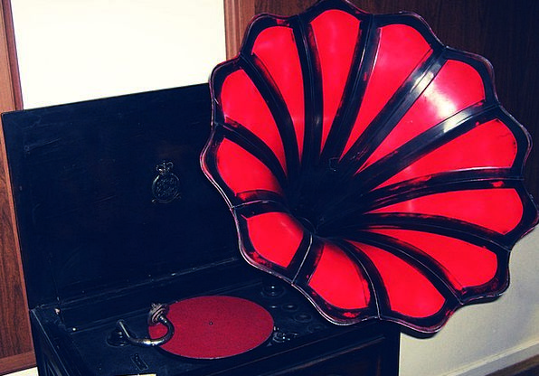 Gramophone Turntable Melody Old Ancient Music Retr