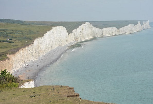 White Cliffs Landscapes Marine Nature Cliffs Preci