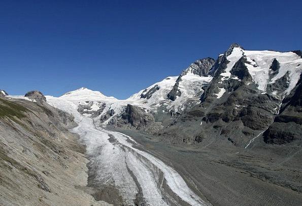 Großglockner Pasterze Glacier Alps Mountains Austr