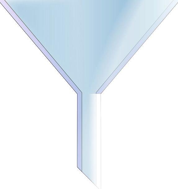 Funnel Chimney Azure Flow Movement Blue Object Con