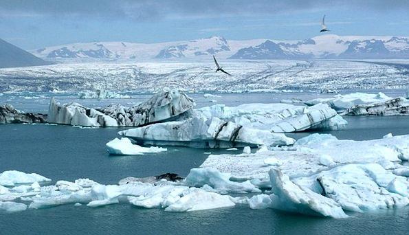 Iceberg Glacier Iceland Arctic Freezing