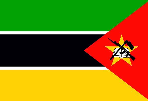 Mozambique Standard National Nationwide Flag Liber