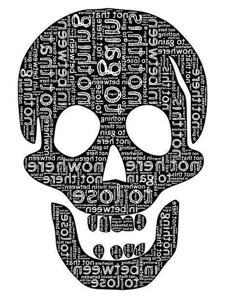 Skull Mind Misery Frustration Prevention Despair D