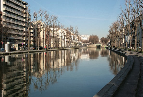 Channel Station Water Aquatic Paris