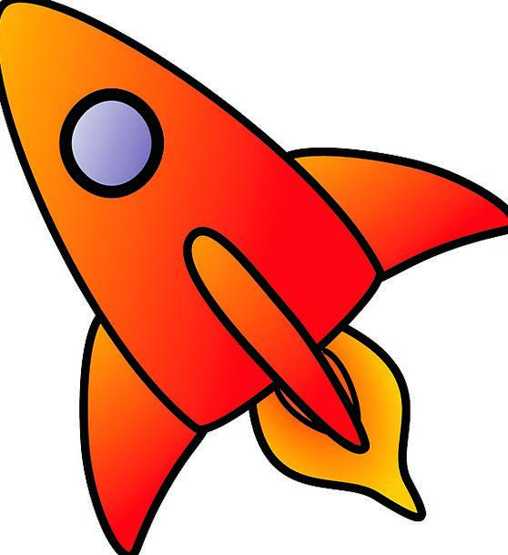 Spaceship Spacecraft Traffic Skyrockets Transporta