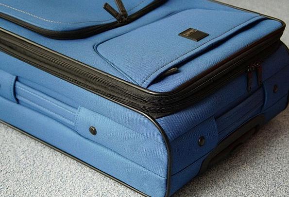 Luggage Baggage Vacation Azure Travel Go Away Leav