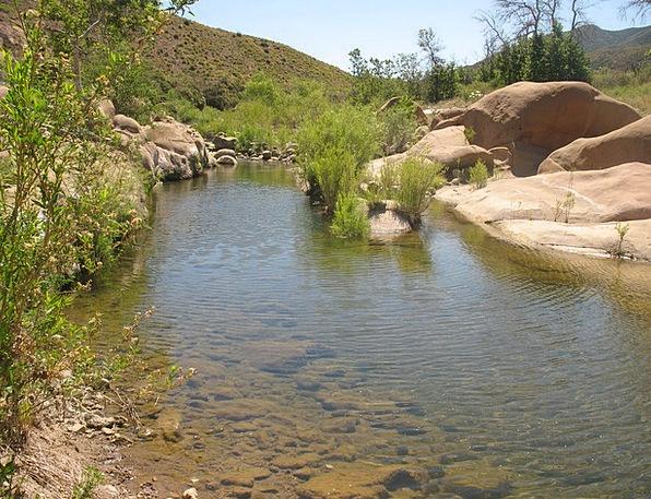 Creek Wilderness Wasteland Sespe Sandstone Desert