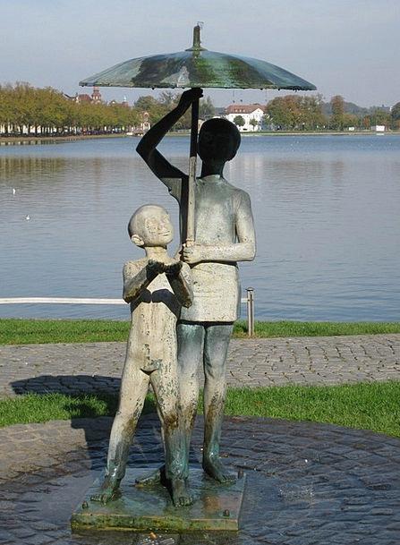 Schwerin Buildings Figurine Architecture Monument