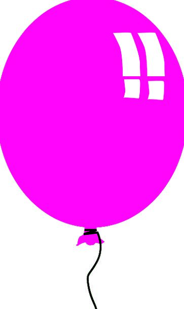 Balloon Inflatable Elaborate Birthday Birthdate Pu