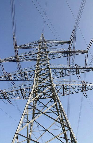 Power Poles Present Mast Pole Current Power Line P