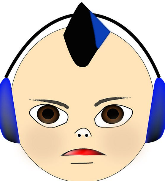 Boy Lad Animation Mohawk Cartoon Childhood Infanti