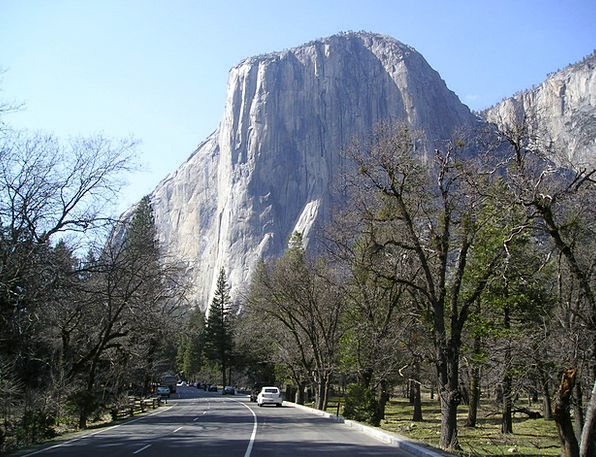 Usa Landscapes Nature National Park Yosemite Alpin