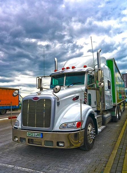 Truck Car Traffic Transportation Logistics Hdr Tra