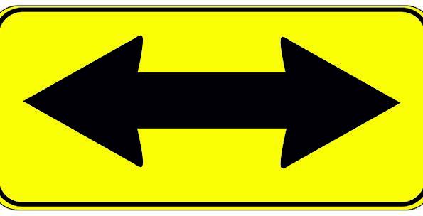 Arrow Missile Traffic Binary Transportation Way Me