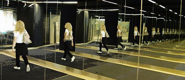 Mirror Glass Fashion Immeasurable Beauty Woman Lad