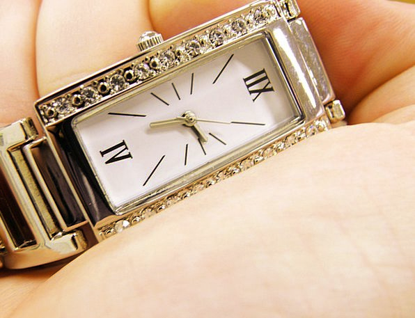 Wrist Watch Period The Hands Time Dial Knob Hand W