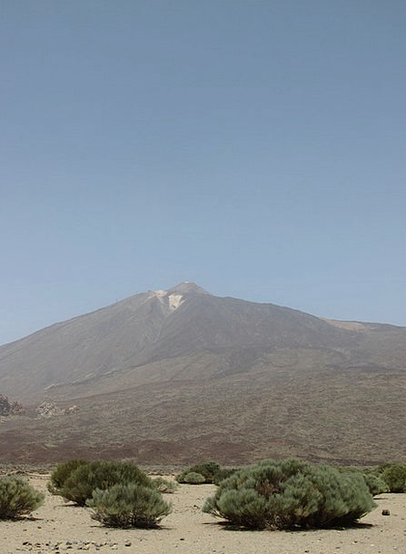 Teide Landscapes Nature Mountain Crag Tenerife Can