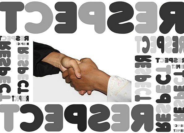 Handshake Handclasp Respect Haendeschuettel Awe Wo