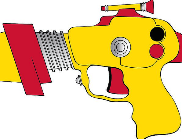 Toy Gun Science Fiction Gun Ray Gun Weapon Armamen