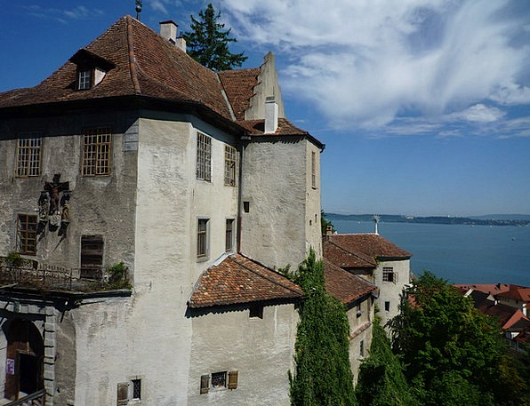 Lake Constance Buildings Fortress Architecture Mee