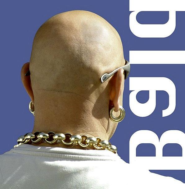 Bald Bare Gentleman Macho Manly Man Summer Earring