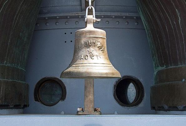 Ship Bell Ship Deck 1904 Seafaring Portholes Apert