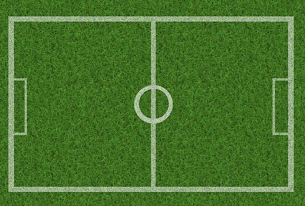 Grass Lawn Haste Football Ball Rush Playing Field