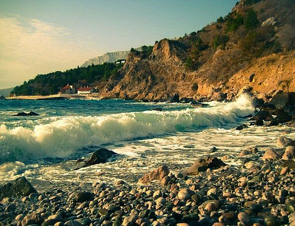 Wave Upsurge Vacation Marine Travel Rock Pillar Se