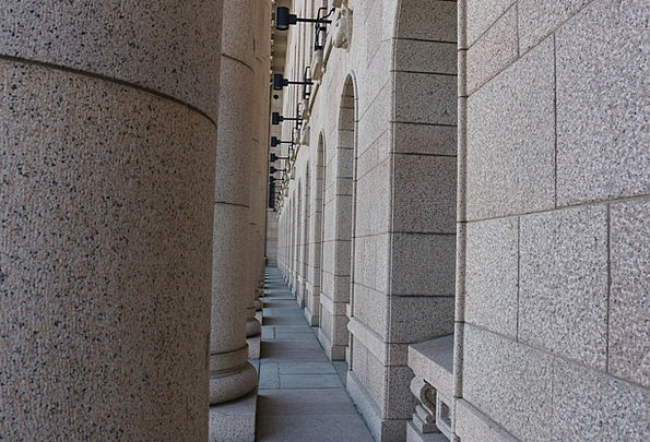 Pillars Supports Pebble Architectural Stone