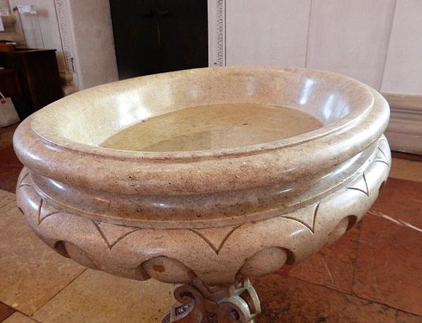 Baptismal Font Initiation Salzburg Cathedral Bapti