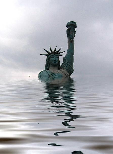 Statue Of Liberty Monuments Places Water Aquatic U