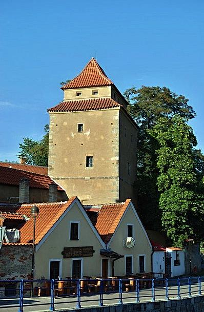 Czech Budejovice Spilhaybl Mr Iron Castle Tower Zá