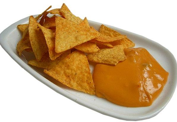 Nachos Drink Nosh Food Kcal Snack Sauce Calories E