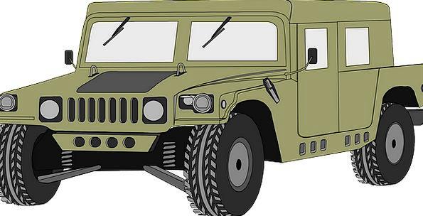 Hummer Traffic Car Transportation Humvee Vehicle A