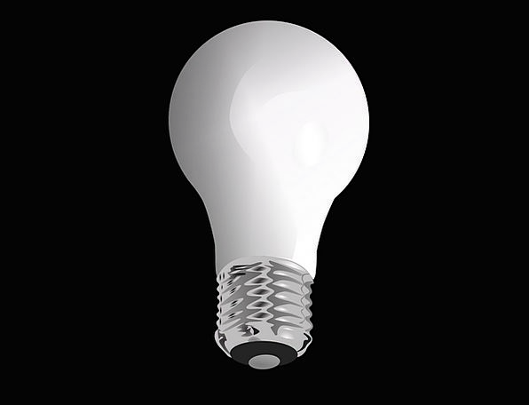 Light Bulb Power Energy Vigor Electricity Lighting