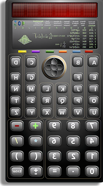 Calculator Adder Solutions Mathematics Keys Multip