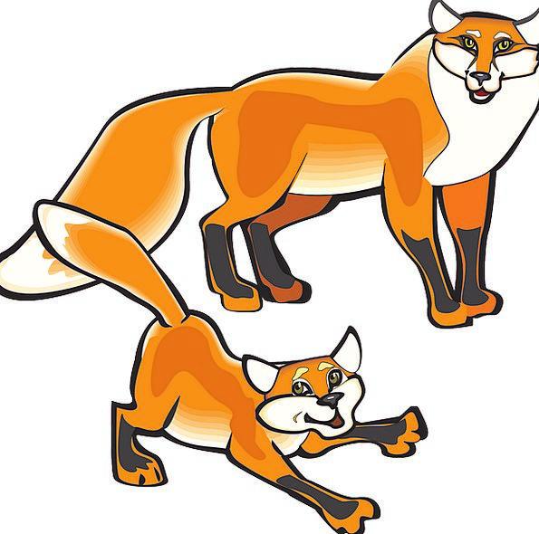 Fox Deceive Parental Animal Physical Parent Tail E