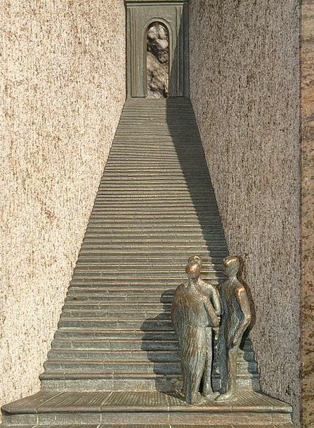 Stairs Staircases Humanoid Emergence Appearance Hu