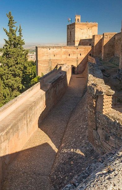 Alhambra Monuments Places Spain Grenada Famous For