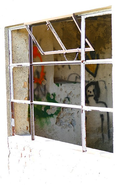 Window Gap Buildings Cut-glass Architecture Broken