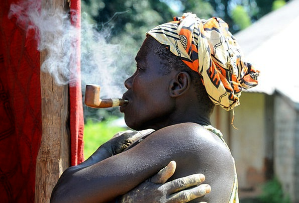 Cigar, Smoke, Burn, Africa, Old, Cigarette, Roll-up, Bissau, Smoking