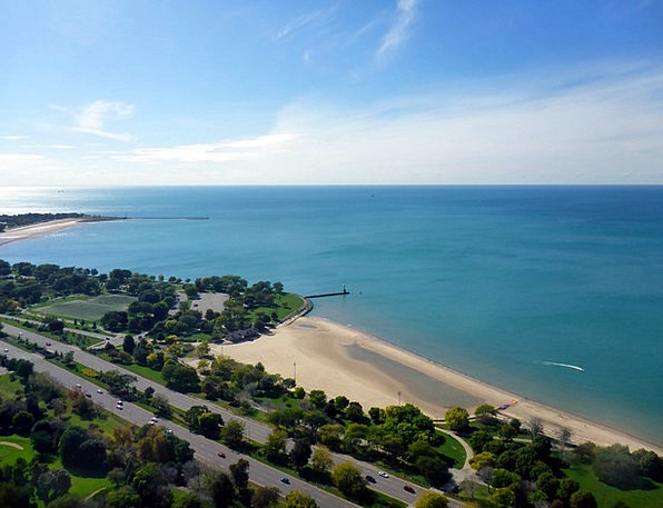 Lake Shore Freshwater Lake Michigan Lake Chicago S