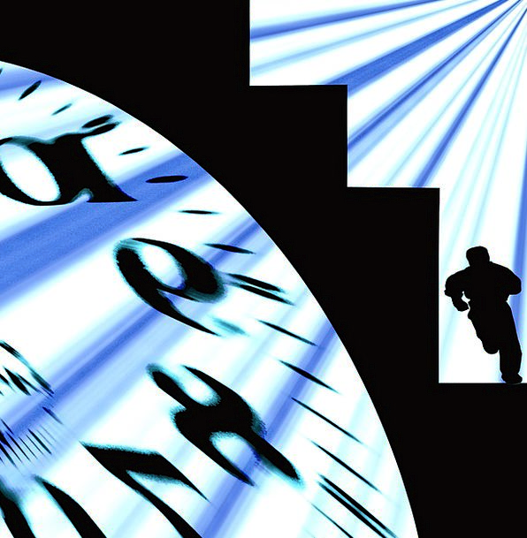 Time Period Timepiece Present Current Clock Time W