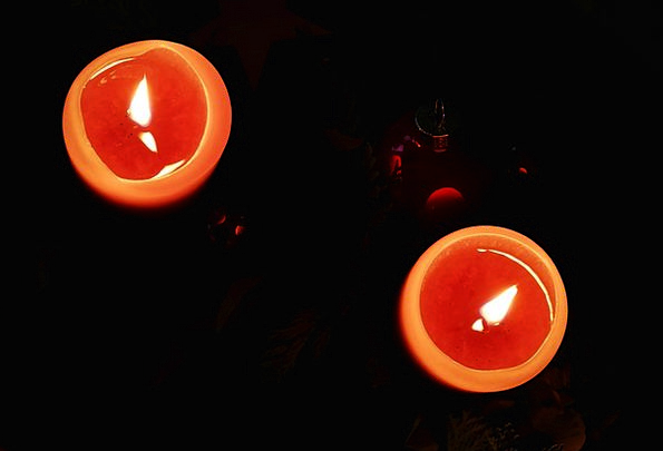 Advent Arrival Tapers Lights Illuminations Candles