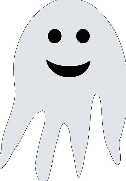 Ghost Flicker Fright Halloween Scare Horror Fear F