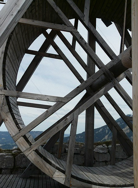 Wheel Helm Breezes Wood Timber Winds Cable Chain M