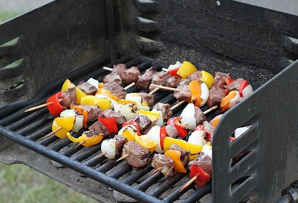 Kebab Skewer Drink Grate Food Skewers Spits Grill