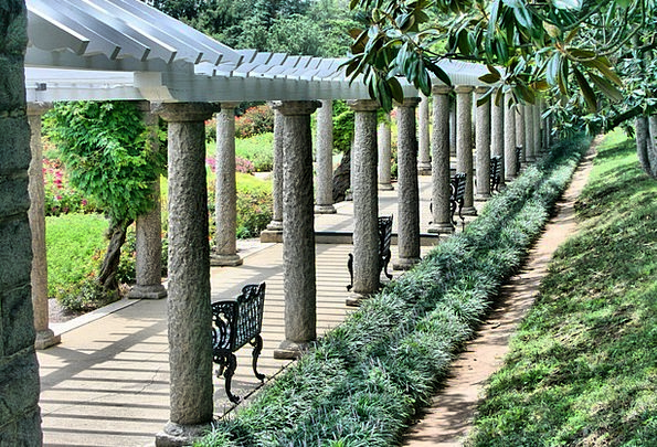 Pergola Arch Monuments Bleachers Places Walkway Pa